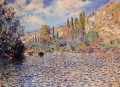 The Seine at Vetheuil Claude Monet 2